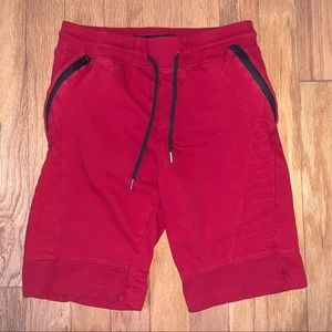 SWITCH Remarkable Zip Pockets Sweat Shorts Medium